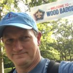 Arriving at Wood Badge Training
