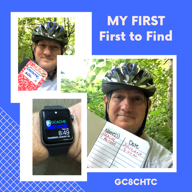 First First to Find Geocache
