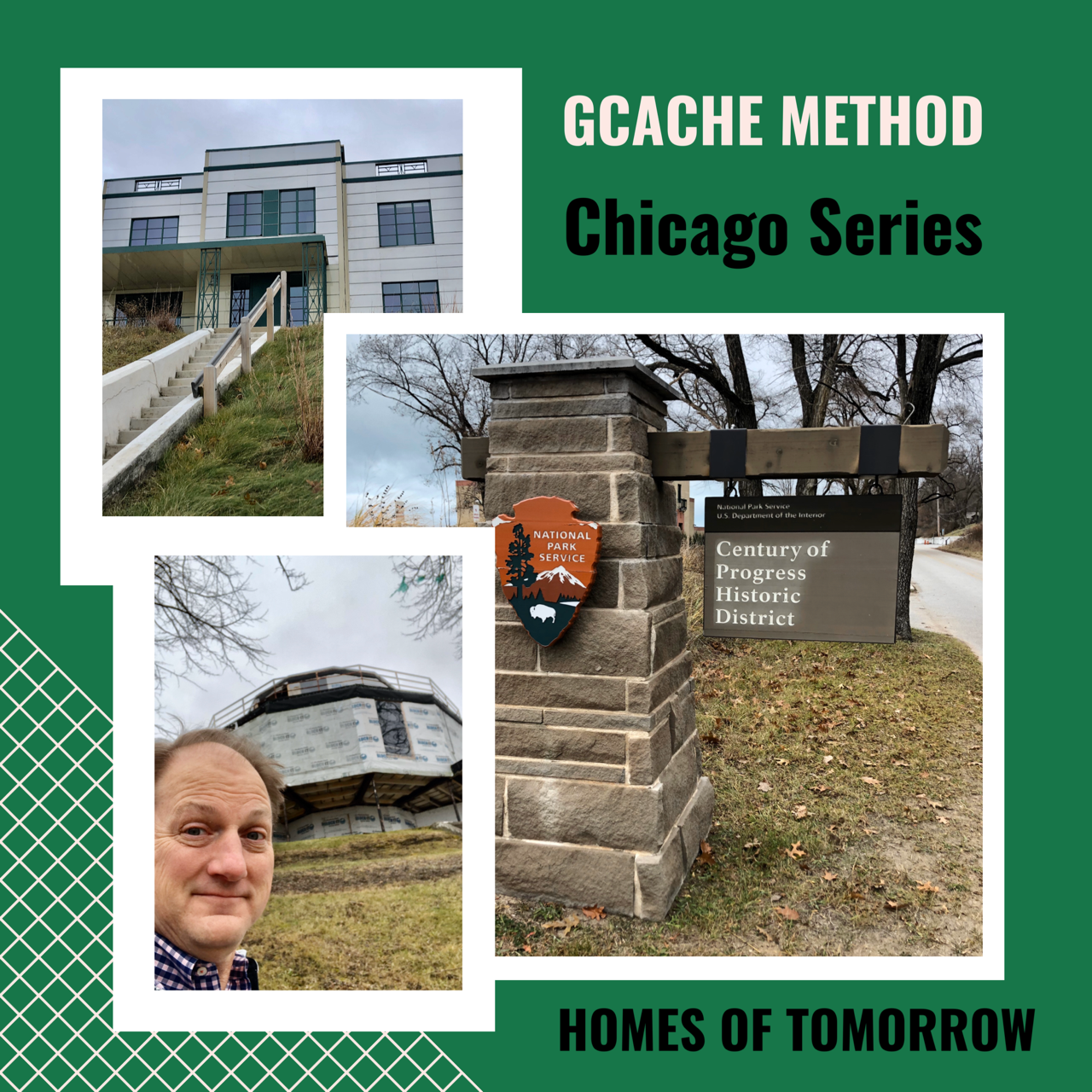 Geocaching Chicago Series – Homes of Tomorrow
