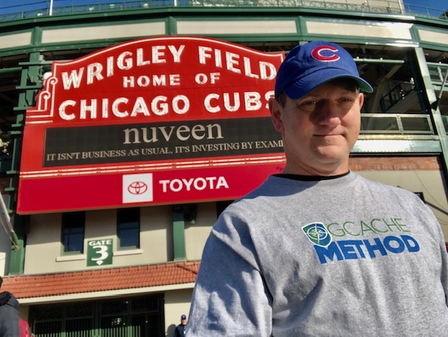 Geocachemethod Hits 1000 at Wrigley Field